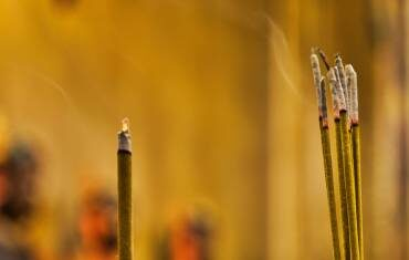 Why Light an Incense Stick Before God