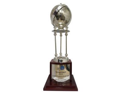 Top Export Award, 2015-16