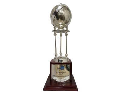 Top Export Award, 2016-17