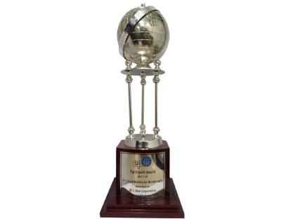 Top Export Award, 2017-18