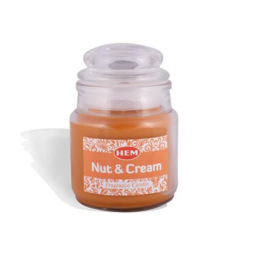 Nut & Cream Fragrance Candle