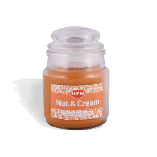 Nut & Cream Fragrance Candle